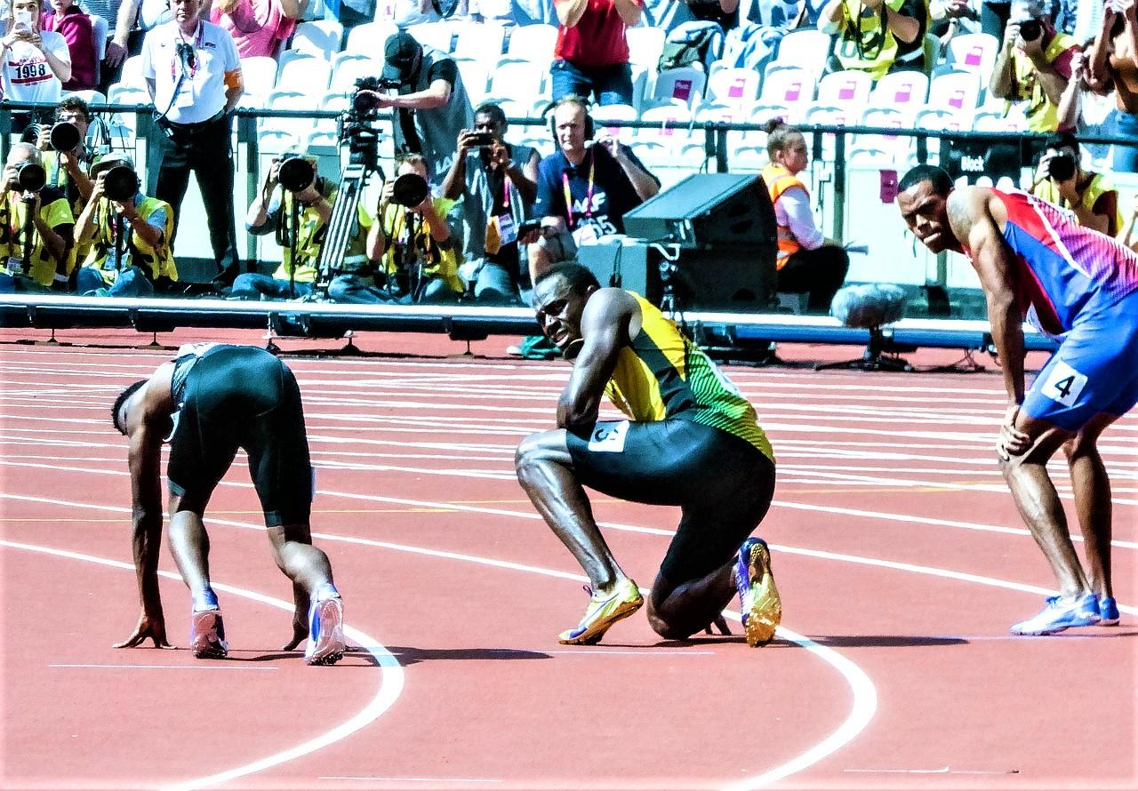 Weiterhin schnellster Mensch der Welt - Usain Bolt