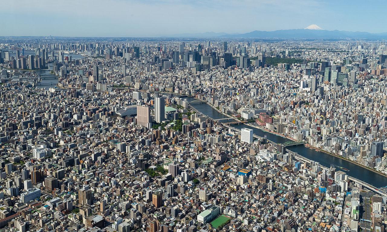 Die Skyline der größten Metropolregion der Welt. Bildquelle: WIkipedia.org.
