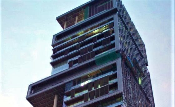 Teuerstes Haus der Welt ist das Antilia in Mumbai