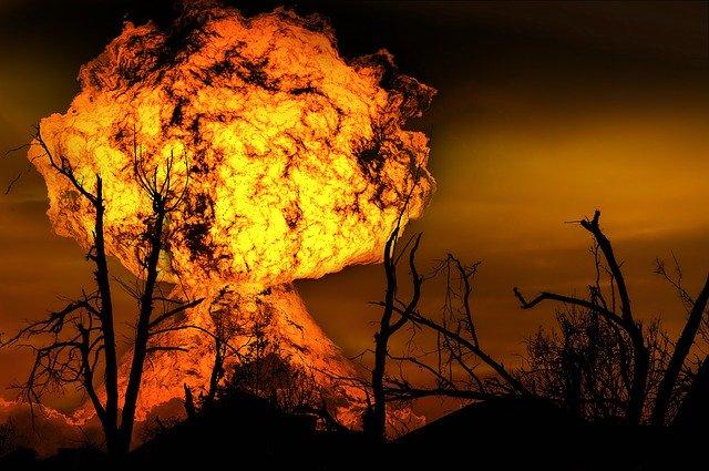 Die größte Explosion der Welt ereignete sich in Häningsen.